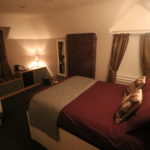 Hotel bedroom in Moor of Rannoch
